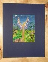 Maristha Schellink: Moon Fairy No.2, 45x35 cm